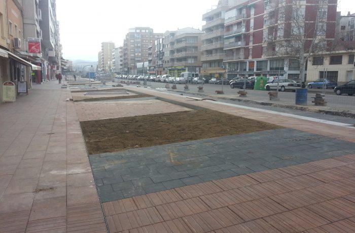 Reurbanización Avenida Madrid