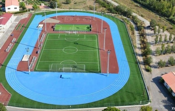 Ciudad del deporte en Fraga